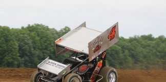 Cap Henry at Attica Raceway Park. (Todd Ridgeway photo)