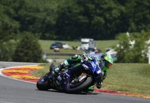 Cameron Beaubier earned his third-straight MotoAmerica Superbike victory to start the season on Saturday at Road America. (Brian J. Nelson Photo)