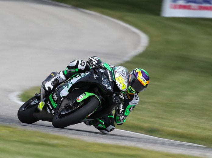 HONOS Racing's Richie Escalante won his third straight Supersport race at Road America on Saturday. (Brian J. Nelson Photo)
