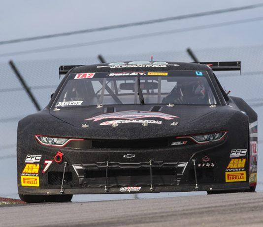 Rafa Matos earned the Trans-Am Series TA2 pole for Sunday's race at the Mid-Ohio Sports Car Course.