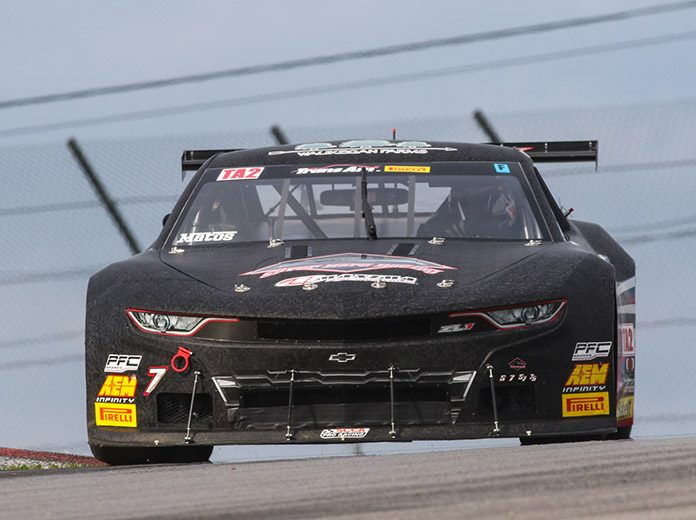 Rafa Matos earned the Trans-Am Series TA2 pole for Sunday's race at the Mid-Ohio Sports Car Course.