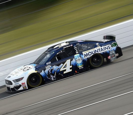 Pit Strategy Propels Harvick