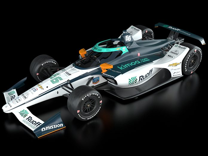 Fernando Alonso's Indianapolis 500 livery for 2020.