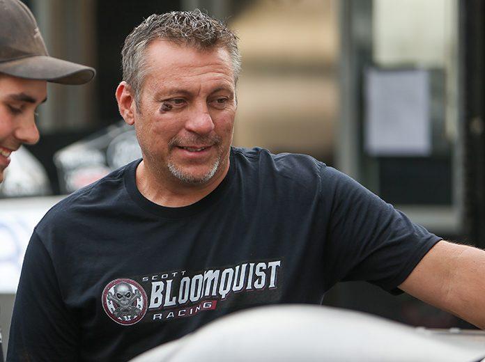 Chris Madden has departed Scott Bloomquist Racing. (Adam Fenwick Photo)