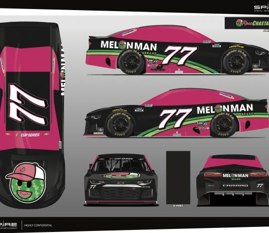 Ross Chastain will drive the No. 77 for Spire Motorsports at Indianapolis Motor Speedway.