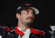 Felipe Nasr has tested positive for COVID-19. (IMSA Photo)