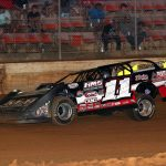 Spencer Hughes won Thursday's COMP Cams Super Dirt Series event at Ark-La-Tex Speedway.