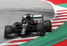 Lewis Hamilton was fastest on the first day of Formula One practice Friday at the Red Bull Ring. (LAT Images Photo)