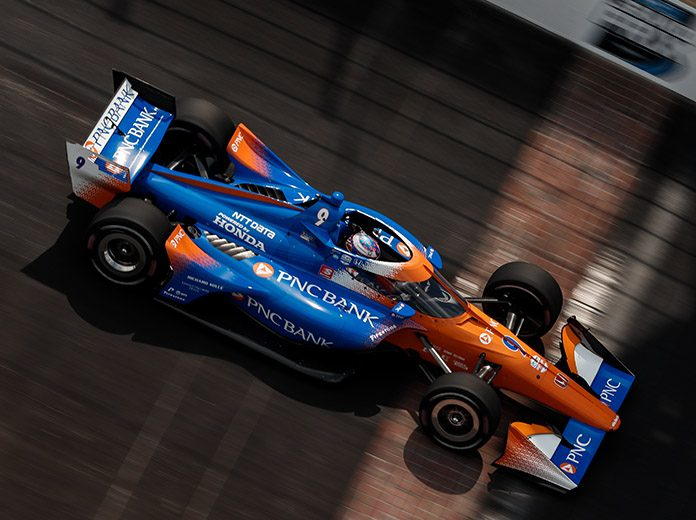 Scott Dixon finally crossed the Indianapolis Motor Speedway road course off his bucket list Saturday afternoon. (IndyCar Photo)