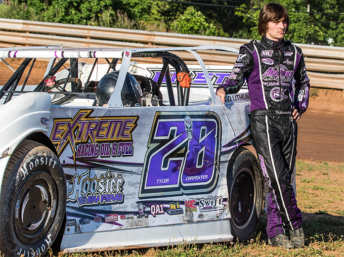 Tyler Carpenter is planning to chase the DIRTcar Summer Nationals title this year. (Zach Yost Photo)