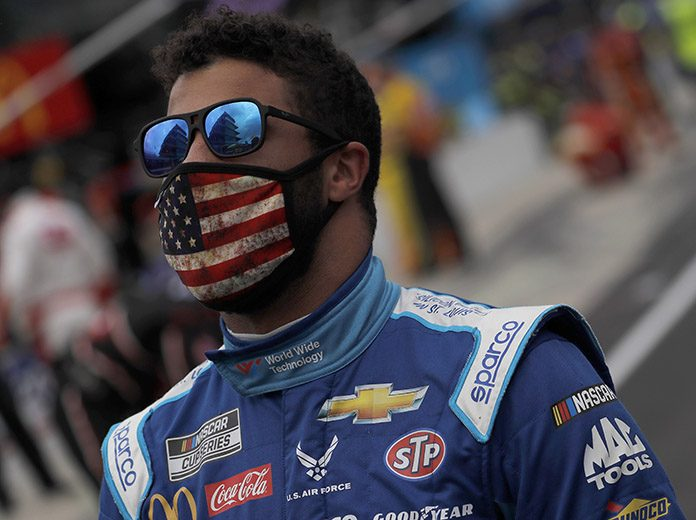 Bubba Wallace was the target of a tweet from President Donald J. Trump on Monday morning