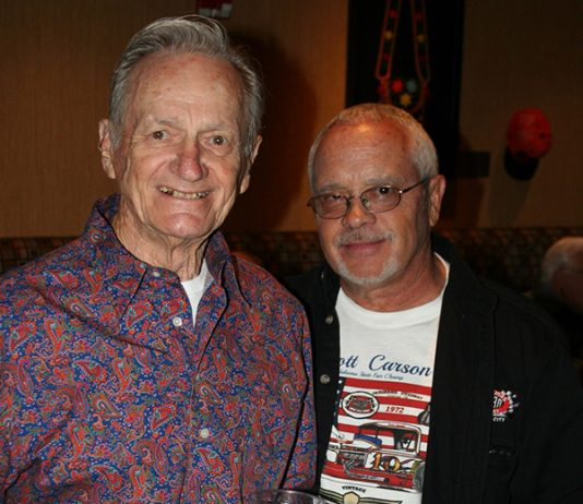 Buddy Cagle (left), shown here with Shane Carson, died June 30. (Richard Bales Photo)