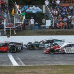 The NASCAR Whelen Modified Tour will make a return visit to White Mountain Motorsports Park on Aug. 1. (Dick Ayers Photo)