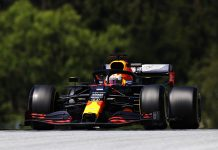 Max Verstappen was fastest in Friday's Formula One practice for the Grand Prix of Styria. (Mark Thompson/Getty Images Photo)