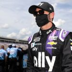 Jimmie Johnson is ready to get back in his No. 48 Chevrolet after testing negative for COVID-19 this week. (Chris Graythen/Getty Images)