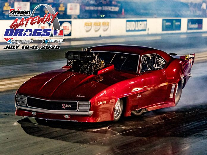 Jason Hamstra led qualifying for the ADRL Gateway Drags Friday at World Wide Technology Raceway. (Jason Dunn Photo)