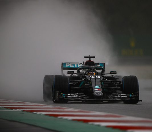 Lewis Hamilton claimed the pole for the Styrian Grand Prix on Saturday at the Red Bull Ring. (LAT Images Photo)