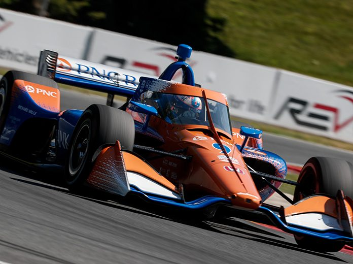 Scott Dixon raced to his third-straight NTT IndyCar Series victory Saturday at Road America. (IndyCar Photo)