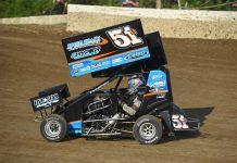 Joe B. Miller Saturday at Valley Speedway. (Ryan Black Photo)