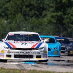 Mike Skeen leads the field during Sunday's Trans-Am Series TA2 class event at Brainerd Int'l Raceway.