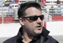 Tony Stewart (pictured) and Ray Everanham are among a group of investors launching a new all-star racing series. (HHP/Harold Hinson Photo)