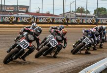 The American Flat Track season will finally get underway this weekend at Volusia Speedway Park in Florida. (AFT Photo)