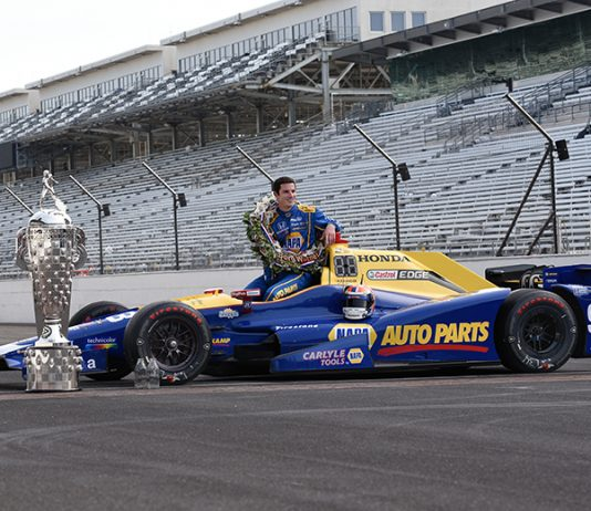 Curb-Agajanian Performance Group has been a part of two Indianapolis 500 victories, including the 2016 victory by Alexander Rossi (IMS Photo)