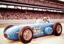 Chuck Hulse at Indianapolis Motor Speedway in 1962. (IMS Photo)
