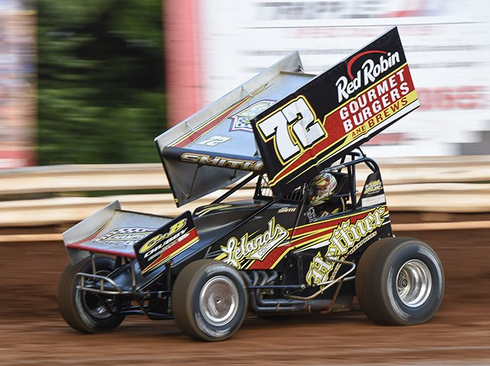 Ryan Smith has had the speed to win in Heffner Racing's No. 72, but luck hasn't been on his side so far in central Pennsylvania. (Dennis Bicksler Photo)