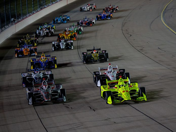 The NTT IndyCar Series is set for a busy weekend with twin races at Iowa Speedway. (IndyCar Photo)