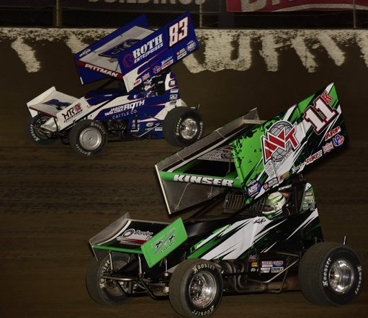 Kraig Kinser Daryn Pittman Mark Funderburk Photo