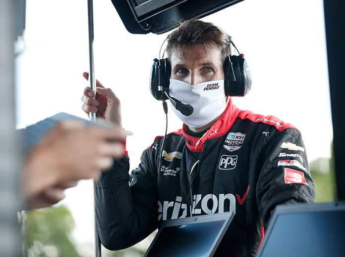Will Power firmly believes the doubleheader racing weekend at Iowa Speedway will be better than what fans saw at Texas Motor Speedway a few weeks ago. (IndyCar Photo)