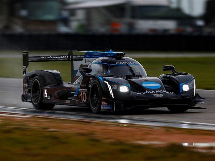 Renger van der Zande was fastest during IMSA WeatherTech SportsCar Championship practice on Friday at Sebring Int'l Raceway. (IMSA Photo)