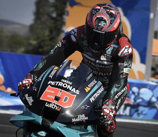Fabio Quartararo earned the pole for the MotoGP opener Saturday in Spain. (MotoGP Photo)