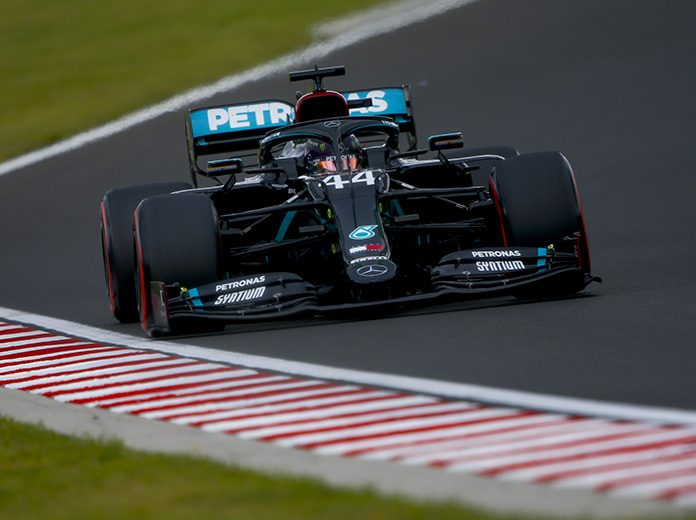 Lewis Hamilton earned his 90th Formula One pole on Saturday. (LAT Images Photo)