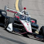 Josef Newgarden was fastest in NTT IndyCar Series practice Saturday at Iowa Speedway. (IndyCar Photo)