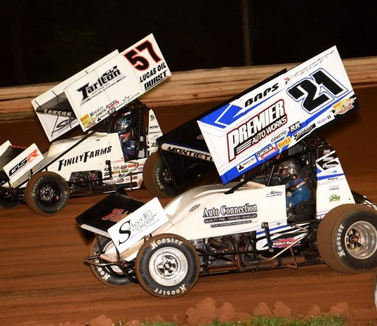 Lead Grows For Larson