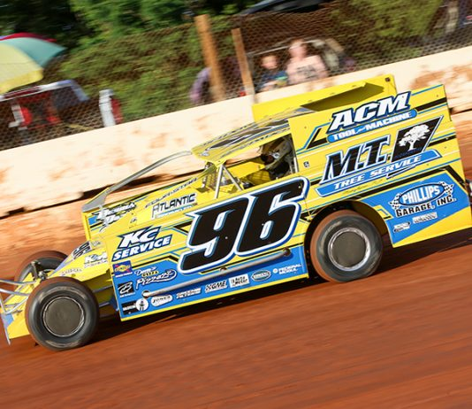 Billy Pauch Jr., shown here in May at Cherokee Speedway, won Sunday's York County Nationals at BAPS Motor Speedway. (Adam Fenwick Photo)