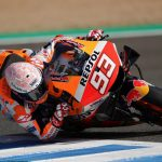 Marc Marquez has undergone successful surgery after being injured in the MotoGP opener on Sunday. (Repsol Honda Photo)