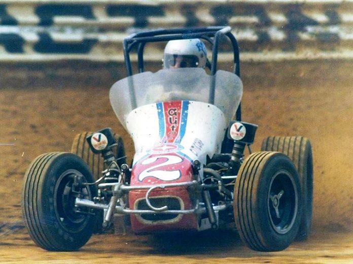 Rich Vogler behind the wheel in 1978. (Bob Gates Photo Collection)