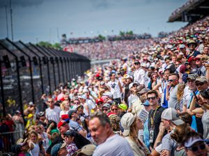 Indianapolis Motor Speedway is expecting to limit capacity for the Indianapolis 500 to 25 percent, with all fans in attendance required to wear face masks. (IMS Photo)