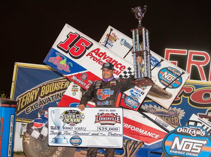 Donny Schatz Steals $25,000