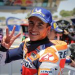 Marc Marquez has been declared fit to ride ahead of Sunday's second round of the MotoGP season. (Honda Photo)