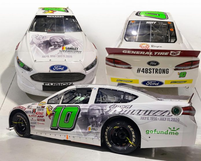 Ryan Huff will pay tribute to the late Shawn Balluzzo this weekend at Kansas Speedway.