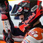 Marc Marquez will not participate in Sunday's MotoGP event. (Honda Photo)