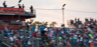 Matt Hirschman on Saturday at Star Speedway. (Tom Morris Photo)