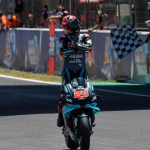 Fabio Quarataro earned his second-straight MotoGP victory Sunday in Spain. (MotoGP Photo)