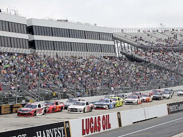 NASCAR's upcoming weekend at Dover Int'l Speedway will be run without fans in the stands due to COVID-19. (HHP/Alan Marler Photo)