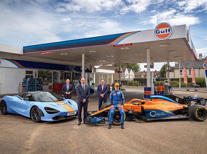 Gulf Oil has reunited with McLaren.