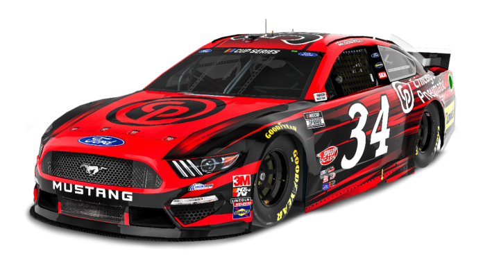 CP Compressors will back Michael McDowell and Front Row Motorsports beginning this weekend at New Hampshire Motor Speedway.